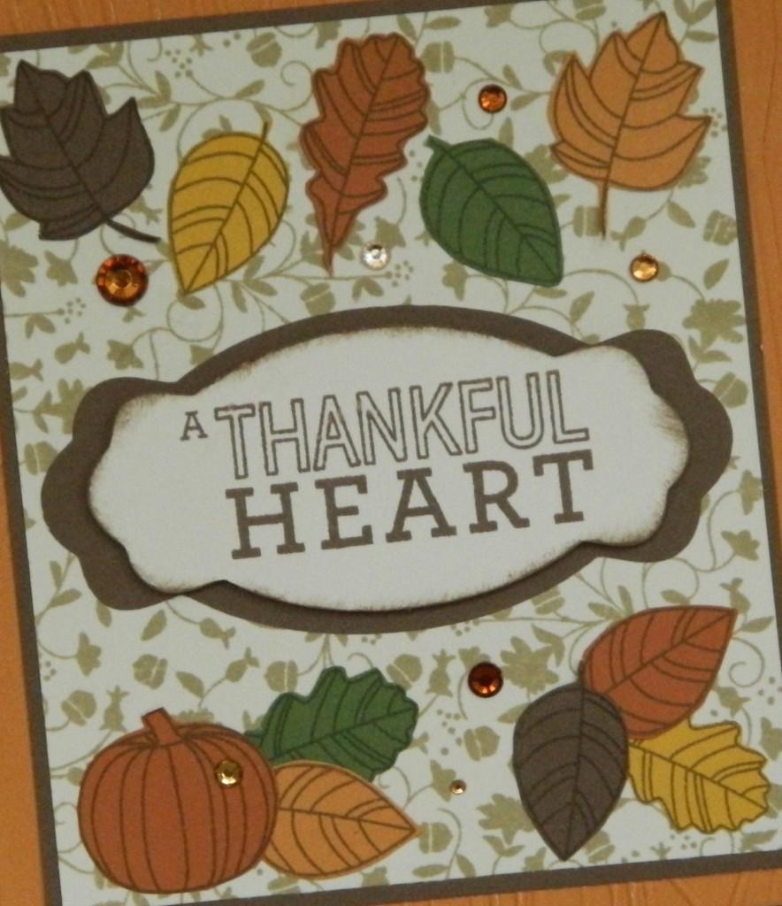 Pathfinding - Thankful Heart #6