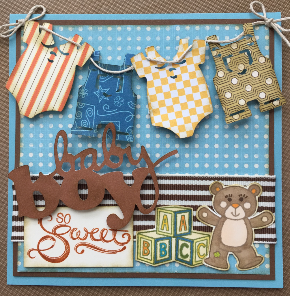 Wanderful - Baby Boy Card #6