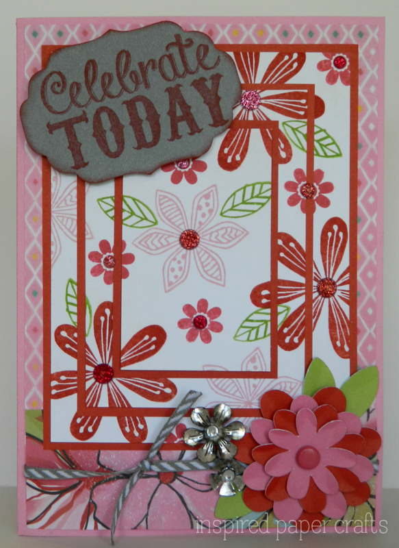Triple Stamping Tutorial Birthday Card Inspired Paper Crafts