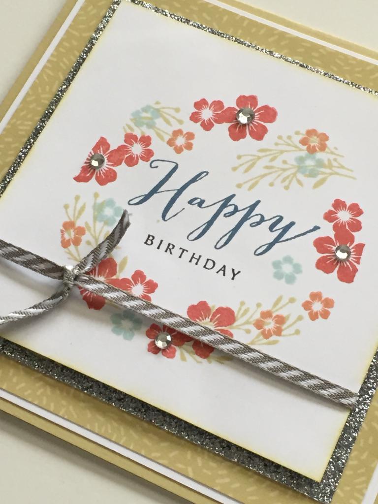 Hopscotch -  Happy Birthday Card #2