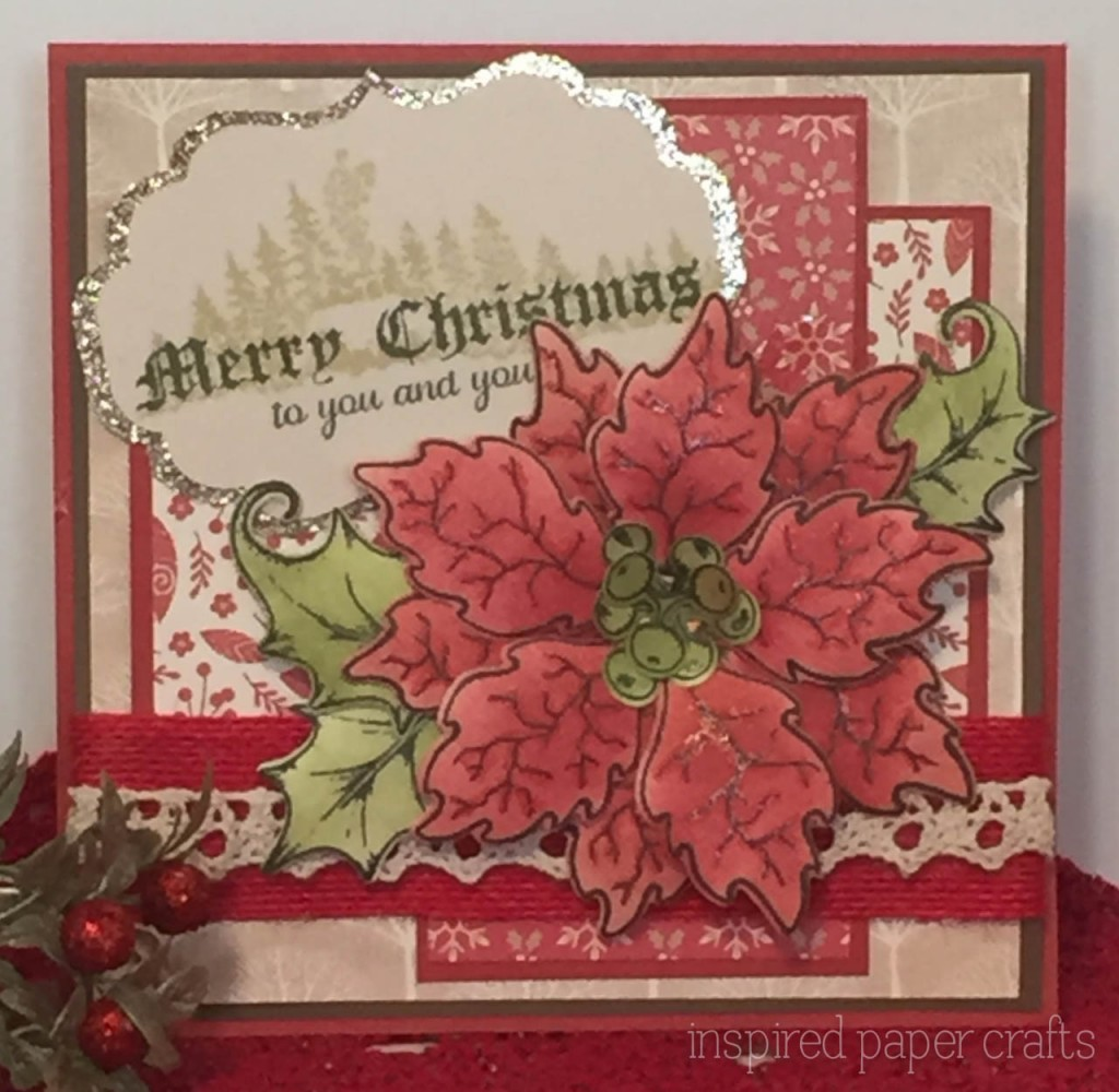 Merry Christmas to You... Christmas Card - Inspired Paper Crafts