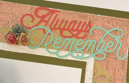 #CTMH Hello Lovely - Always Remeber Scrapbook Layout - Inspired Paper Crafts - Watermarked-8