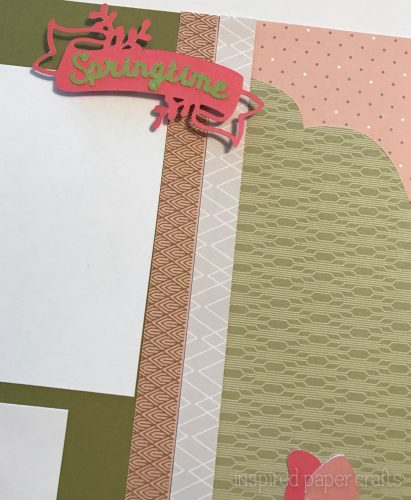#CTMH Hello Lovely -Happy Spring Scrapbook Layout - Inspired Paper Crafts - Watermarked-11