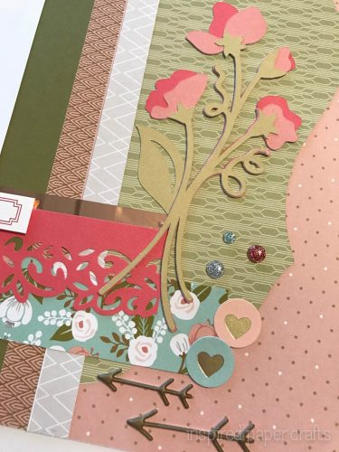 #CTMH Hello Lovely -Happy Spring Scrapbook Layout - Inspired Paper Crafts - Watermarked-12