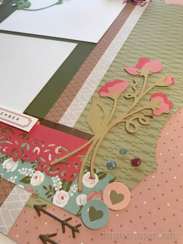#CTMH Hello Lovely -Happy Spring Scrapbook Layout - Inspired Paper Crafts - Watermarked-14