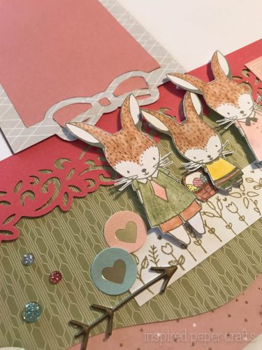 #CTMH Hello Lovely -Happy Spring Scrapbook Layout - Inspired Paper Crafts - Watermarked-15