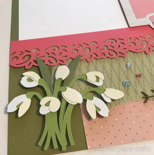 #CTMH Hello Lovely -Happy Spring Scrapbook Layout - Inspired Paper Crafts - Watermarked-5