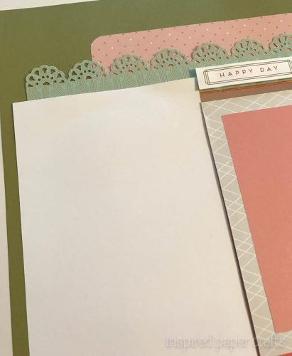 #CTMH Hello Lovely -Happy Spring Scrapbook Layout - Inspired Paper Crafts - Watermarked-6