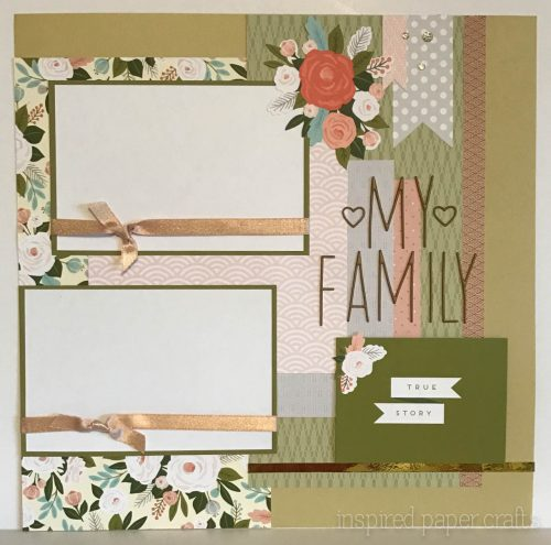 #CTMH Hello Lovely - Together Forever Scrapbook Layout - Inspired Paper Crafts - Watermarked-3
