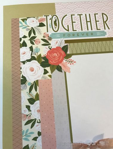 #CTMH Hello Lovely - Together Forever Scrapbook Layout - Inspired Paper Crafts - Watermarked-4