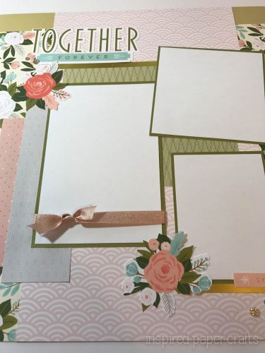 #CTMH Hello Lovely - Together Forever Scrapbook Layout - Inspired Paper Crafts - Watermarked-8
