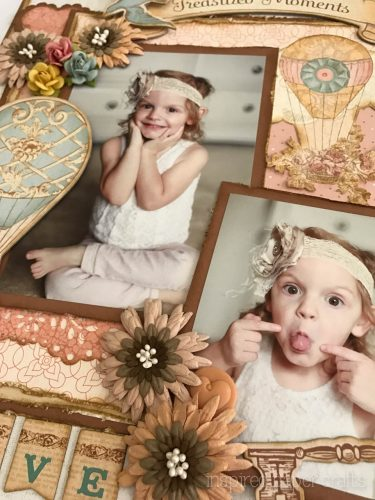 #CTMH Hello Lovely - Treasured Moments Layout - Inspired Paper Crafts - Watermarked-14