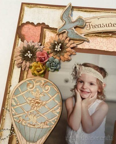 #CTMH Hello Lovely - Treasured Moments Layout - Inspired Paper Crafts - Watermarked-3
