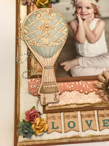 #CTMH Hello Lovely - Treasured Moments Layout - Inspired Paper Crafts - Watermarked-5