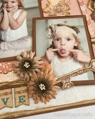 #CTMH Hello Lovely - Treasured Moments Layout - Inspired Paper Crafts - Watermarked-6
