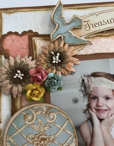 #CTMH Hello Lovely - Treasured Moments Layout - Inspired Paper Crafts - Watermarked-7