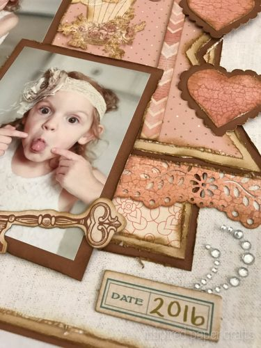 #CTMH Hello Lovely - Treasured Moments Layout - Inspired Paper Crafts - Watermarked-8