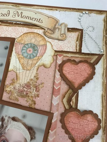 #CTMH Hello Lovely - Treasured Moments Layout - Inspired Paper Crafts - Watermarked-9