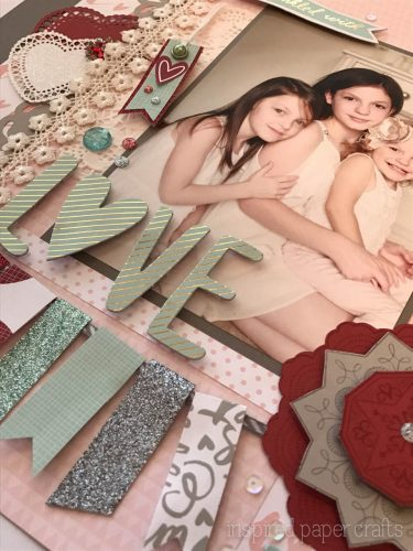 #CTMH Sugar Rush- Love Layout - Inspired Paper Crafts-13
