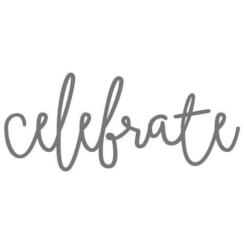 Thin Cuts—Celebrate (Z3256)