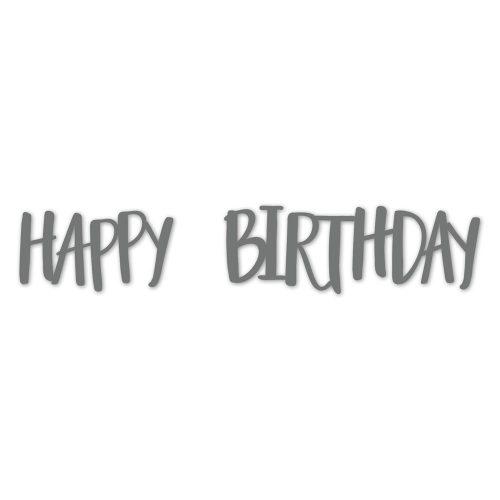 Thin Cuts—Happy Birthday (Z3304)