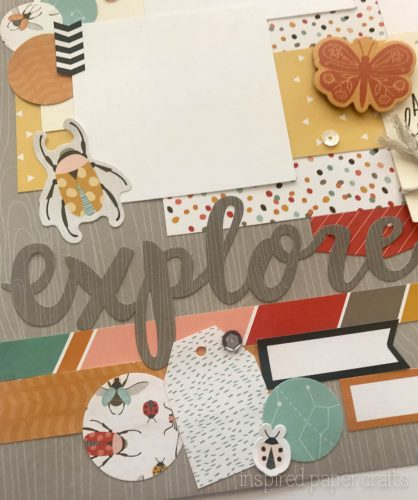 #CTMH Dreamin Big - Explore Scrapbook Layout - Inspired Paper Crafts - Watermarked-2