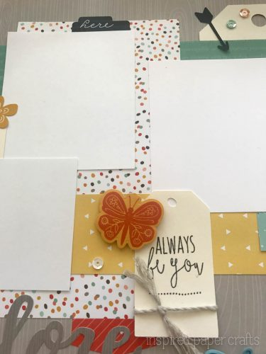 #CTMH Dreamin Big - Explore Scrapbook Layout - Inspired Paper Crafts - Watermarked-4