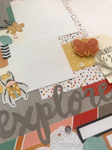 #CTMH Dreamin Big - Explore Scrapbook Layout - Inspired Paper Crafts - Watermarked-5