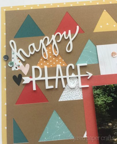 #CTMH Dreamin Big - Happy Place Scrapbook Layout - Inspired Paper Crafts - Watermarked-3