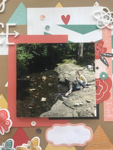 #CTMH Dreamin Big - Happy Place Scrapbook Layout - Inspired Paper Crafts - Watermarked-6