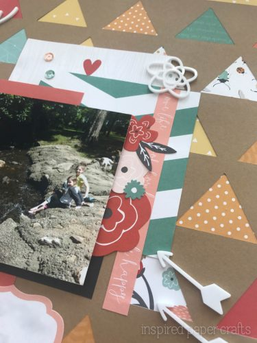 #CTMH Dreamin Big - Happy Place Scrapbook Layout - Inspired Paper Crafts - Watermarked-7