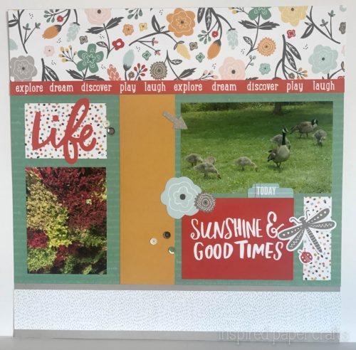 #CTMH Dreamin Big - Love Life Scrapbook Layout - Inspired Paper Crafts - Watermarked-3