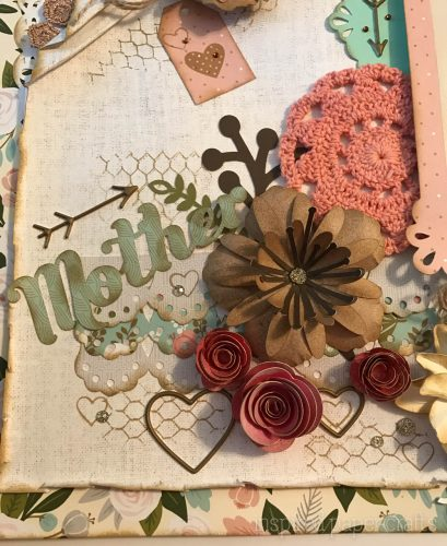 #CTMH Hello Lovely - Cherish - Heritage Scrapbook Layout - Inspired Paper Crafts - Watermarked-3
