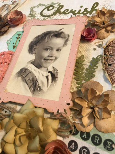 #CTMH Hello Lovely - Cherish - Heritage Scrapbook Layout - Inspired Paper Crafts - Watermarked-7