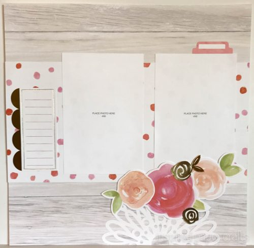 #CTMHCutAbove -Forever & Always Scrapbook Layout Inspired Paper Crafts - Watermarked-4