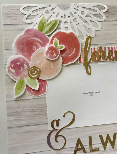 #CTMHCutAbove -Forever & Always Scrapbook Layout Inspired Paper Crafts - Watermarked-5