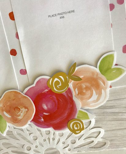 #CTMHCutAbove -Forever & Always Scrapbook Layout Inspired Paper Crafts - Watermarked-7