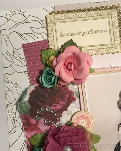 #CTMHLiveBeautifully - Because of you.... Scrapbook Layout Inspired Paper Crafts - Watermarked-3