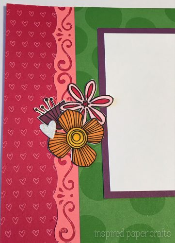 #CTMHAdventure - Live Laugh Love Scrapbook Layout - Inspired Paper Crafts - Watermarked-2