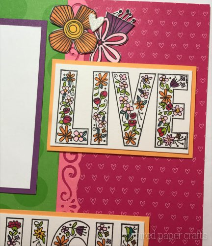 #CTMHAdventure - Live Laugh Love Scrapbook Layout - Inspired Paper Crafts - Watermarked-3