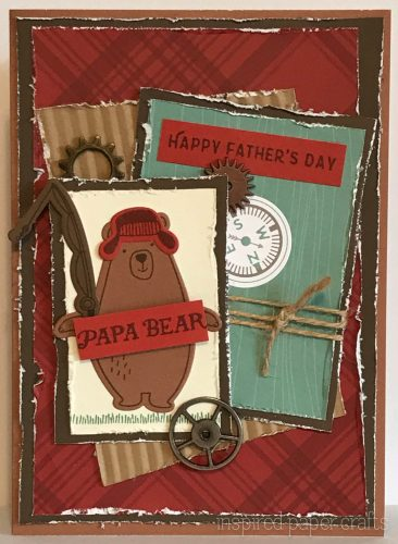 #CTMHJack - Happy Fathers Day Card - Inspired Paper Crafts - Watermarked