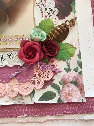 #CTMHLive Beautifully - Memories Scrapbook Layout Inspired Paper Crafts - Watermarked-4