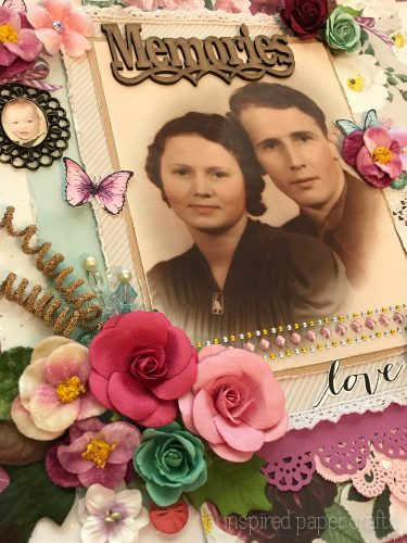 #CTMHLive Beautifully - Memories Scrapbook Layout Inspired Paper Crafts - Watermarked-8