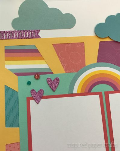 #CTMHlittledreamer - Believe Scrapbook Layout Inspired Paper Crafts - Watermarked-2