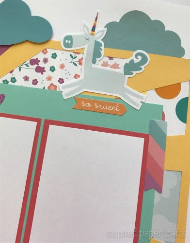 #CTMHlittledreamer - Believe Scrapbook Layout Inspired Paper Crafts - Watermarked-3