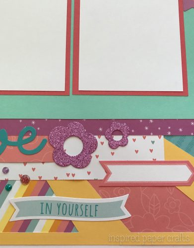 #CTMHlittledreamer - Believe Scrapbook Layout Inspired Paper Crafts - Watermarked-4
