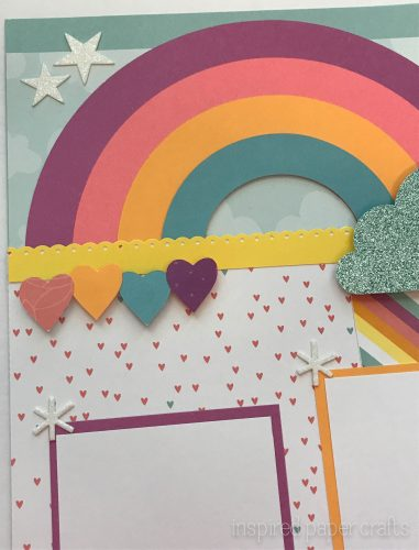 #CTMHlittledreamer - Shine Scrapbook Layout Inspired Paper Crafts - Watermarked-2