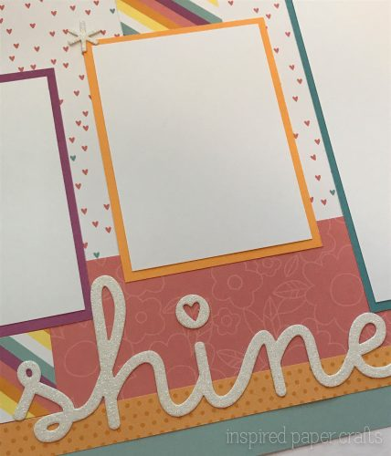 #CTMHlittledreamer - Shine Scrapbook Layout Inspired Paper Crafts - Watermarked-5