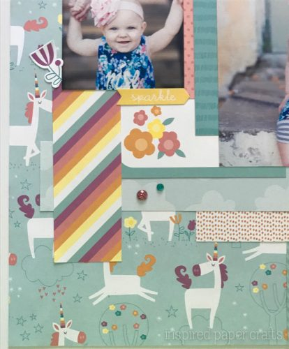 #CTMHLittleDreamer - Girl Themed Layout - Inspired Paper Crafts - Watermarked-3