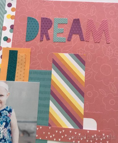 #CTMHLittleDreamer - Girl Themed Layout - Inspired Paper Crafts - Watermarked-5